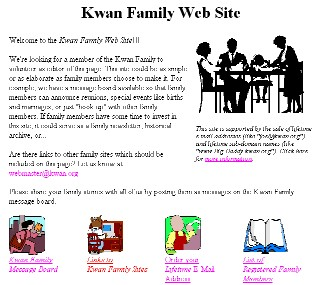Kwan Family Website